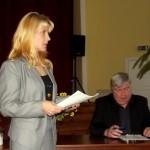 Mārīte Bauere rezumēja divu stundu laikā diskusijās izskanējušos argumentus un pretargumentus.