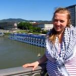 Lielvārdes novada pašvaldības jaunatnes lietu speciāliste Renāte Mencendorfa pagājušajā gadā brīvprātīgo darbā Austrijā – Lincas pilsētā pie Donavas.