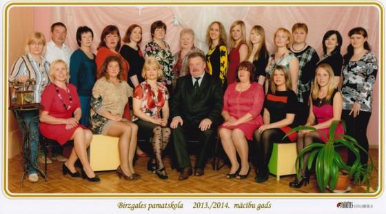 Birzgales pamatskolas skolotāji un tehniskie darbinieki savas Gaismas pils bijušos audzēkņus gaida uz skolas jubileju un salidojumu.