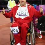 Birzgalietis Aigars Apinis ar savu sniegumu pasaules čempionātā var būt ļoti apmierināts – tagad viņš mierīgi var gatavoties startam vasaras paraolimpiskajās spēlēs Rio.