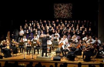 Svētku kulminācija nenoliedzami bija Liepājas Simfoniskā orķestra, kora «Ogre», jauniešu kora «Impulss» un Francijas kora «Lumen Laulu» koncerts Ogres Kultūras centra Lielajā zālē.