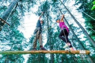 Ogres Zilo kalnu dabas parkā nākamnedēļ tiks atklāts piedzīvojumu parks «Milžu takas».