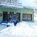 No Ogres skvēra aizvadītajā piektdienā tika izvestas 60 tonnas sniega.